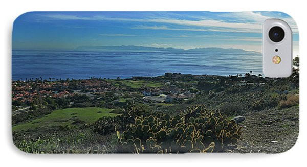 Catalina Is Viewed From Palos Verde IPhone Case