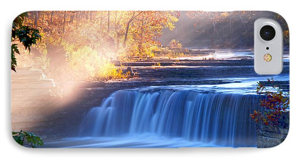 Cataract Falls Indiana IPhone Case