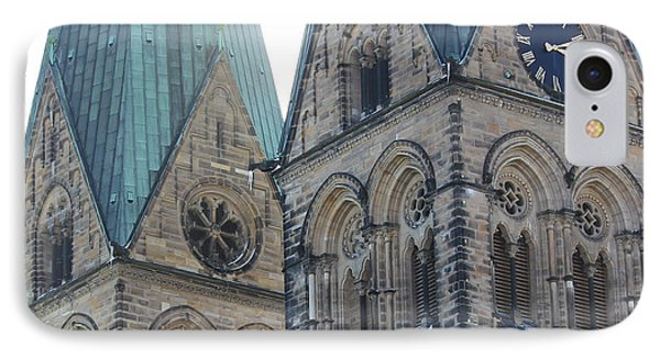 Cathedral In Bremen IPhone Case