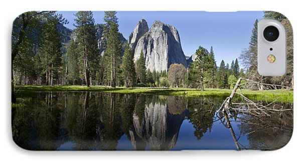 Cathedral Rocks Reflection IPhone Case