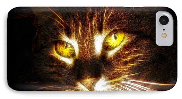 Cat's Eyes - Fractal IPhone Case