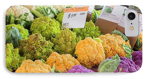 Cauliflower Market Stall IPhone Case