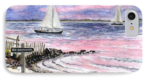 Cedar Beach Pinks IPhone Case