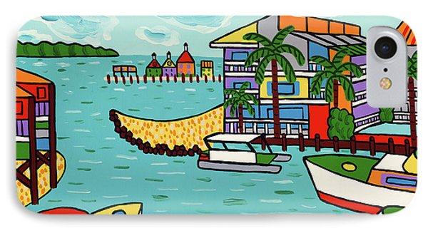 Cedar Cove Marina - Cedar Key IPhone Case