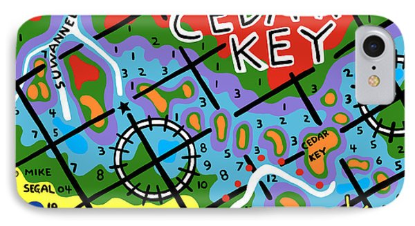 Cedar Key Chart IPhone Case