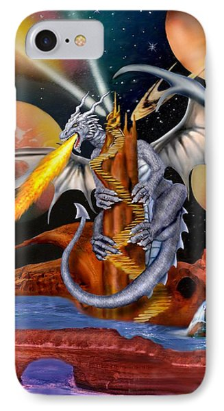 Celestian Dragon IPhone Case
