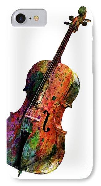Saxophone iPhone 8 Case - Cello by Mark Ashkenazi