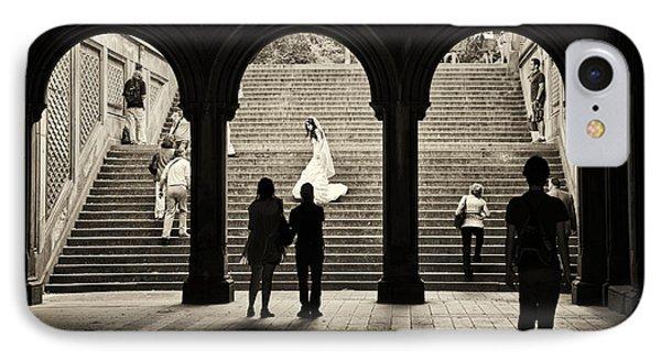 Central Park Bride IPhone Case