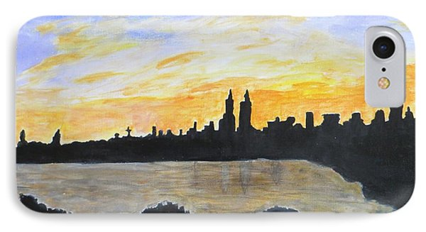 Central Park In Newyork IPhone Case