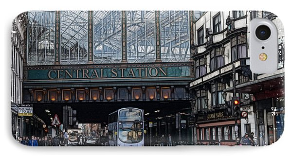Central Station Glasgow IPhone Case