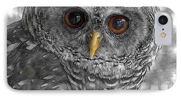 Chacco Owl IPhone Case