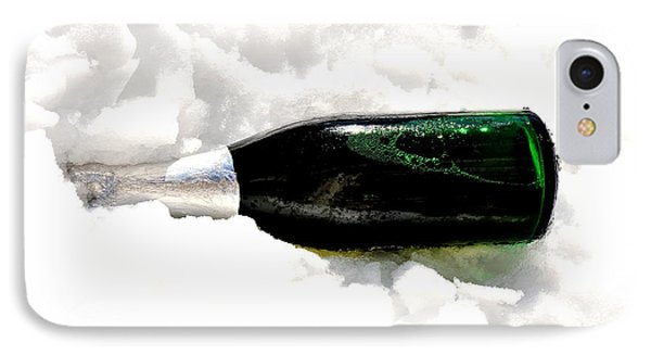 Champagne In Ice IPhone Case