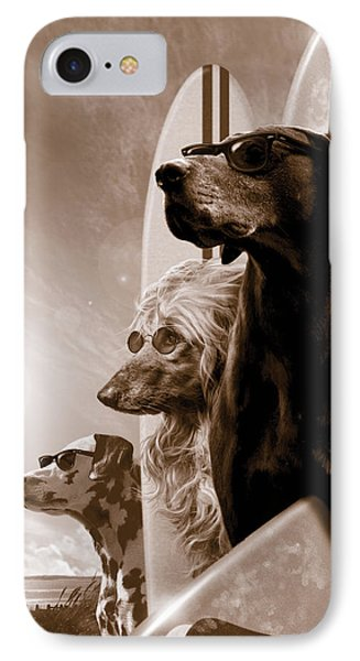 Dog iPhone 8 Case - Changes by Garry Walton