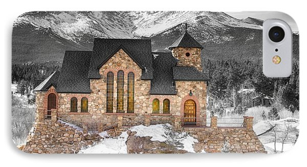 Chapel On The Rock Bwsc IPhone Case