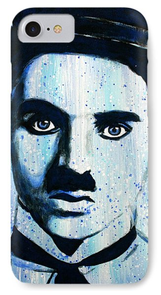 Charlie Chaplin Little Tramp Portrait IPhone Case