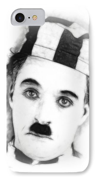Charly Chaplin IPhone Case