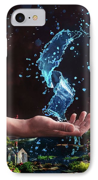 Wizard iPhone 8 Case - Charm Of Clear Water by Dina Belenko