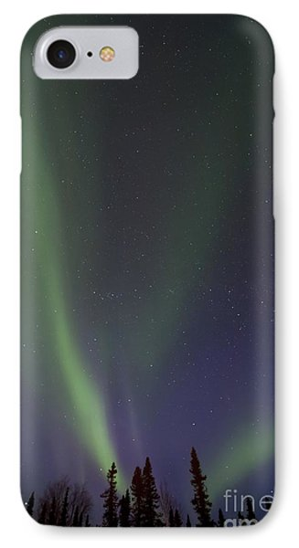 Sky iPhone 8 Case - Chasing Lights by Priska Wettstein