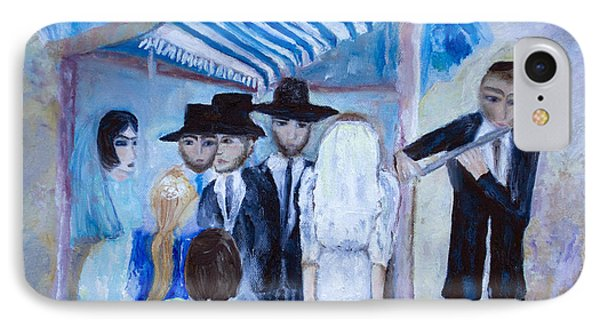 Chassidic Wedding IPhone Case