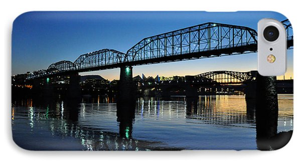 Tennessee River Bridges Chattanooga IPhone Case