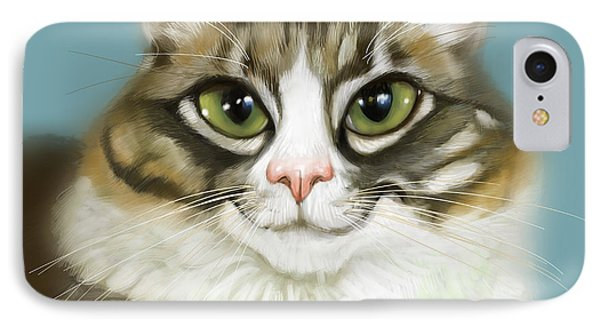 Cheeky Cat IPhone Case