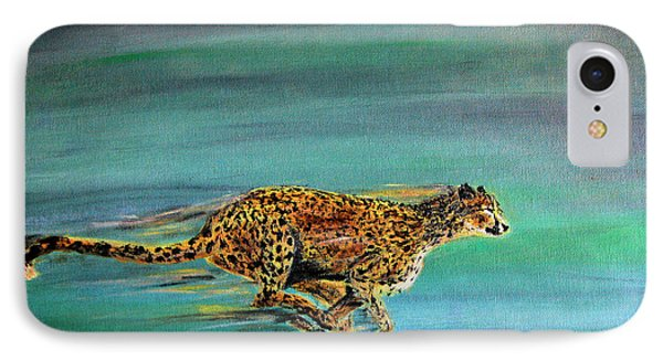 Cheetah Run IPhone Case