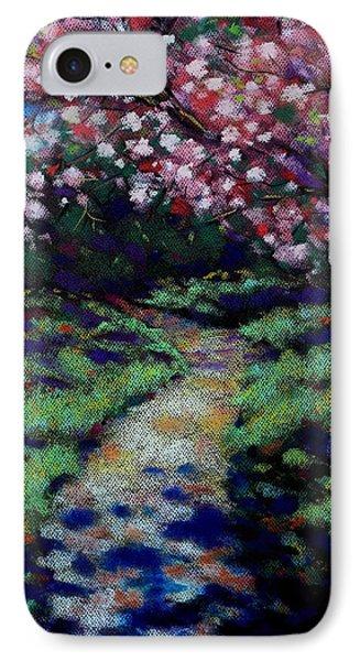 Cherry Blossom Walk  IPhone Case