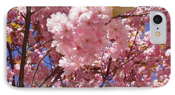 Cherry Trees Blossom IPhone Case