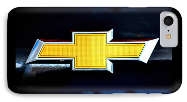 Chevy Bowtie Camaro Black Yellow Iphone Case Mancave IPhone Case