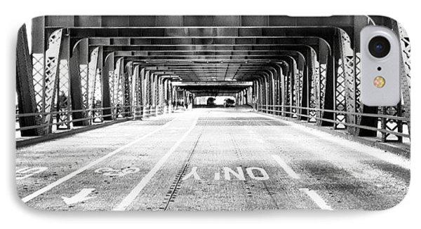 Chicago Wells Street Bridge Picture IPhone Case