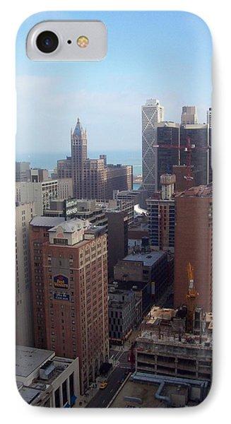 Chicago Cityscape IPhone Case
