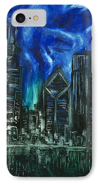 Chicago Huge Skyline Abstract IPhone Case