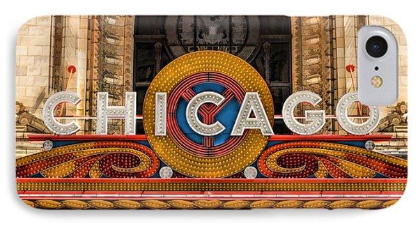 Chicago Theatre Marquee Sign IPhone Case