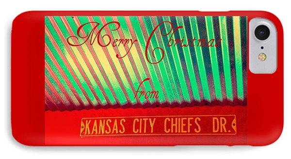 Chiefs Christmas IPhone Case