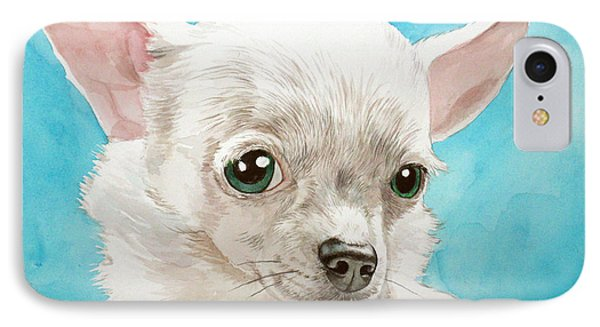 Chihuahua Dog White IPhone Case