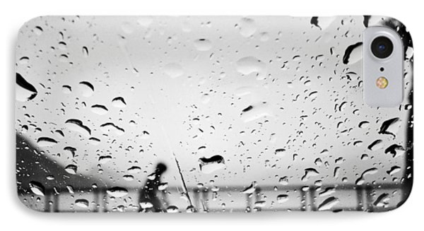 Children In Rain IPhone Case