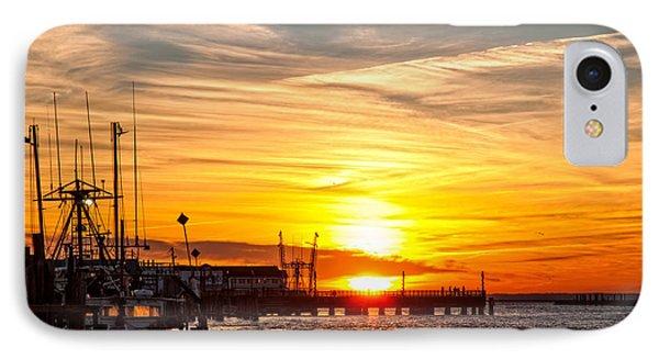 Chincoteague Bay Sunset IPhone Case