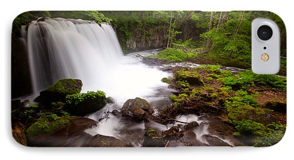 Choushi - Ootaki Waterfall In Summer IPhone Case