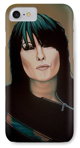 Chrissie Hynde Painting IPhone Case
