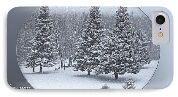 Christmas Card IIi IPhone Case
