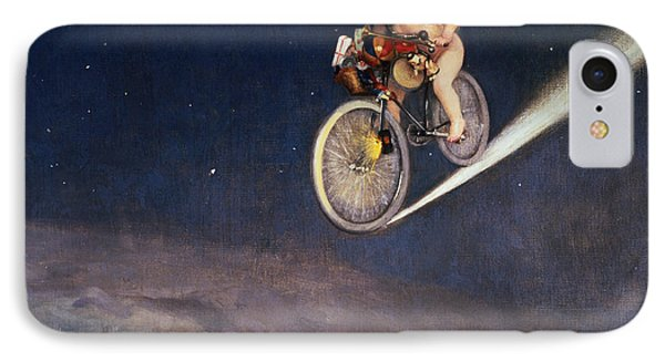 Bicycle iPhone 8 Case - Christmas Delivery by Jose Frappa