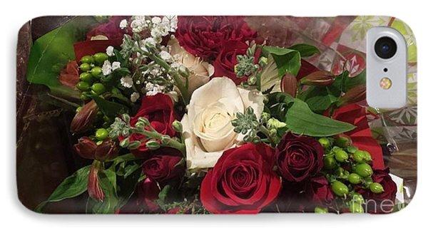 Christmas Floral Bouquet IPhone Case