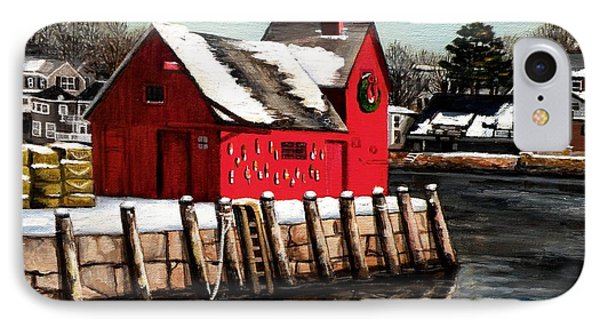 Christmas In Rockport IPhone Case