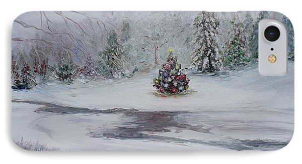Christmas In The Woods IPhone Case