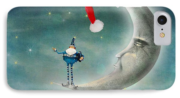 Christmas Moon IPhone Case