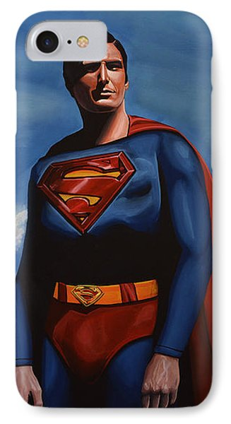 Christopher Reeve As Superman IPhone Case