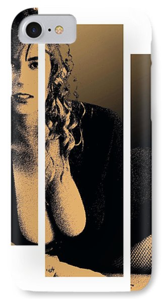 Christy Canyon In Copper IPhone Case