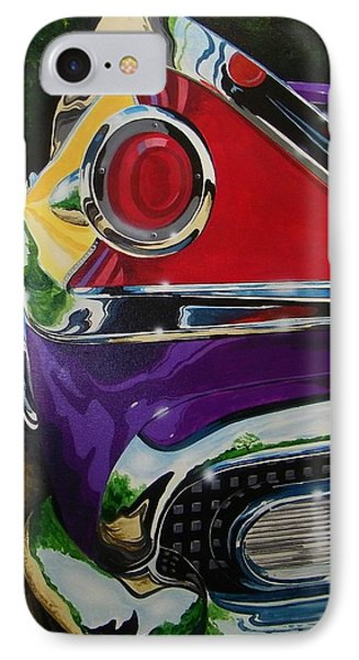 Chrome And Color IPhone Case