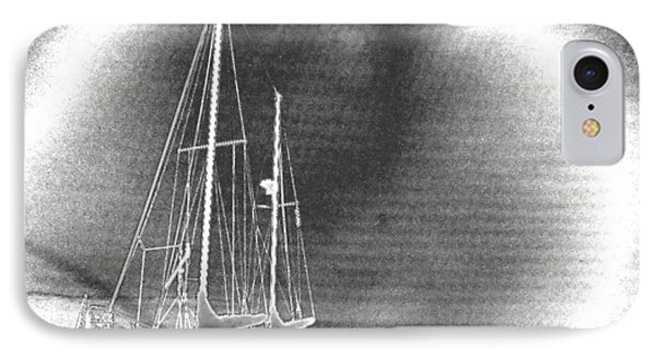 Chromed Sailboats In Key Largo IPhone Case