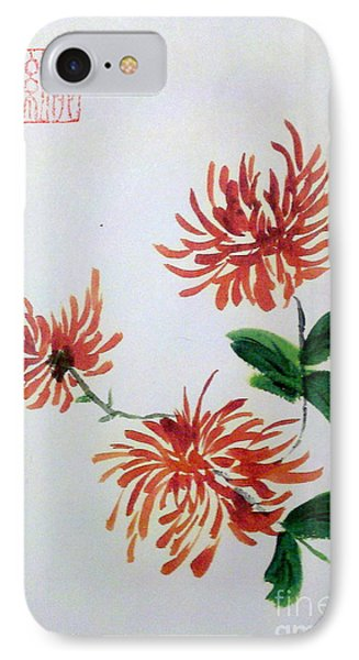Chrysanthemums IPhone Case